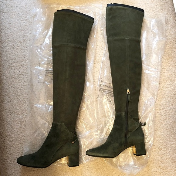 4bbdbd34645966 Tory Burch Laila Over the Knee Suede Boot